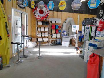 le magasin Planète Hors Bord